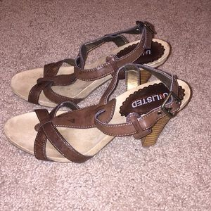 Unlisted brown sandals